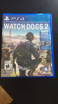 Ps4 watch dogs 2 game Collingwood, L9Y 0G6
