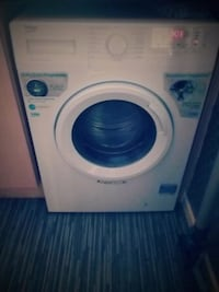 white front-load washer Tipton, DY4