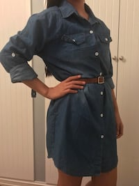 Denim dress Oslo, 0777