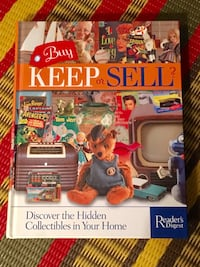 New Buy Keep or Sell collectibles guide large hardcover  Toronto, M2M 2A3