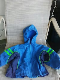 blue and green zip-up hoodie New Providence, 17560