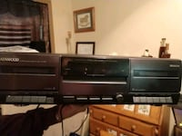 Kenwood stereo double cassette player Bristol, 24201