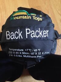Brand New Back Packer Toronto, M8Z 3Z7