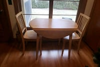 brown wooden dining table set Milford, 01757