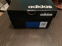 Brand new pair of white adidas low-top sneakers with box Houston, 77074
