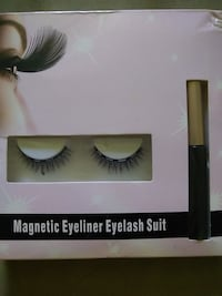 Magnetic eyeliner eyelash set