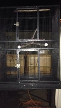 black metal wire pet kennel Washington, 20024