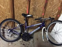 white and blue pacific hard tail mountain bicycle San Diego, 92123