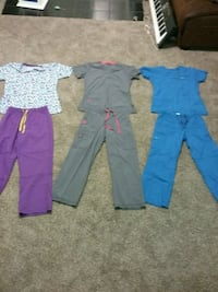 Very nice scrubs, lightly used in good shape.  Seymour, 47274
