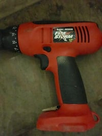 Black and decker firestorm 12v and battery and charger