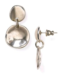 Uno De 50 Silver Scale Earrings Toronto, M5R 3G5