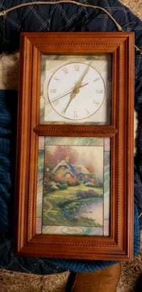 Clock with Lights & Removable Picture on Glass Tecumseh, 74873