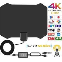 Indoor TV Antenna for Digital HDTV With (85 Miles Range) Toronto, M6N 3V9