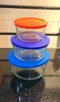 Glass Pyrex Storage Containers