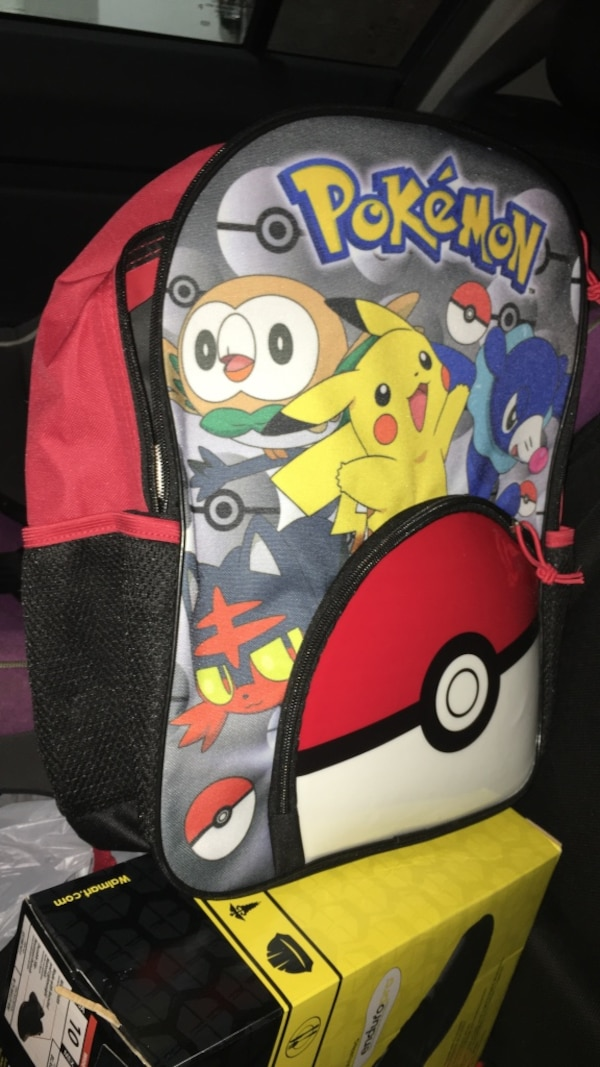 7715bcbb42b5 red and black Pokemon backpack. HomeUsed Baby and Child items in Illinois  Used Baby and Child items in Chicago