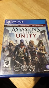 Assassin's creed unity ps4 game Mississauga