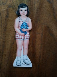 Vintage Susie Paper Doll and 20 Outfits Huntley