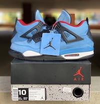 Air Jordan 4's Travis Scott Washington, 20024