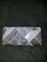 Coach Multi Material Full Zip Wallet Bethlehem