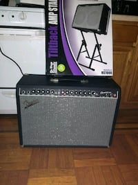 black and gray guitar amplifier Brooklyn, 11231