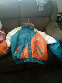 teal and orange Miami Dolphin jacket Albuquerque, 87123