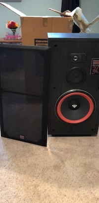 pair of Cerwin-Vega Re  30 speakers : 12 inch, 3 way, 250 WATTS each (with boxes) Springfield, 22152