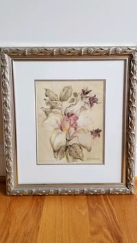 2 Floral Prints/Pictures, Framed & Matted Winchester, 22603
