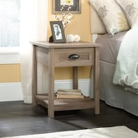 County Line Side Table/ Nightstand, Salt Oak # 417771 Santa Fe Springs