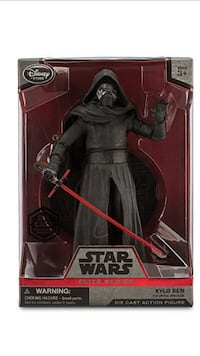 Star Wars Kylo Ren die cast action figure