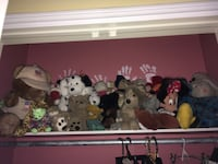 assorted animal plush toys collection Mississauga, L4W 4R7