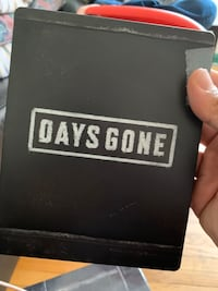 Days gone statue with no game inside Toronto, M4Y 1W7