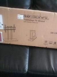 Brand new TV stand never been used for smart flat  Jackson, 49201