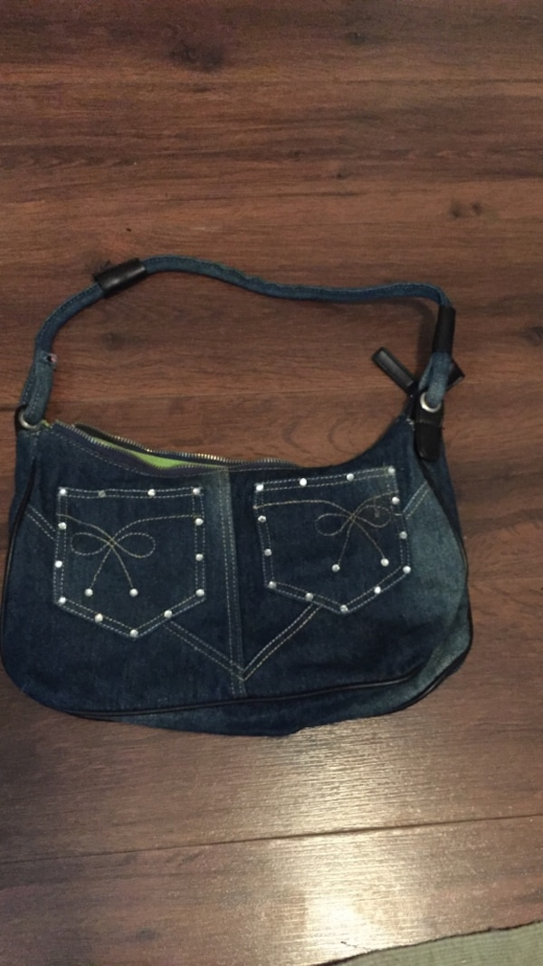 d2298795d Used blue denim hobo bag for sale in Yorktown - letgo