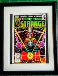 vintge dr strange framed comic London, N5Z 2A7