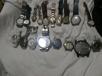 assorted-color analog watch lot Oakland