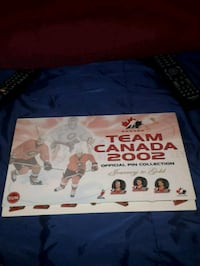 2002 team canada pin collection