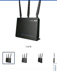 Asus Wireless Dual Band Router AC1900 Markham, L3R 3P9