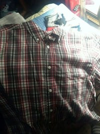 Mens short sleeve button up Syracuse, 13212