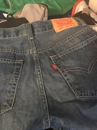 Blue levi's denim bottoms Hoover, 35244
