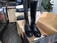 Black motorcycle boots Leominster, 01453