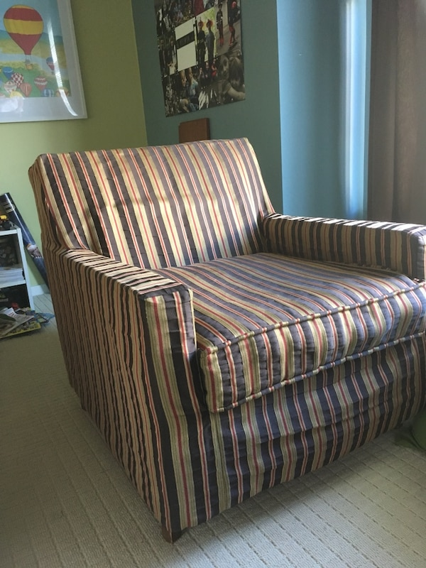 Sofa chair. Retro. Comfy lounge chair