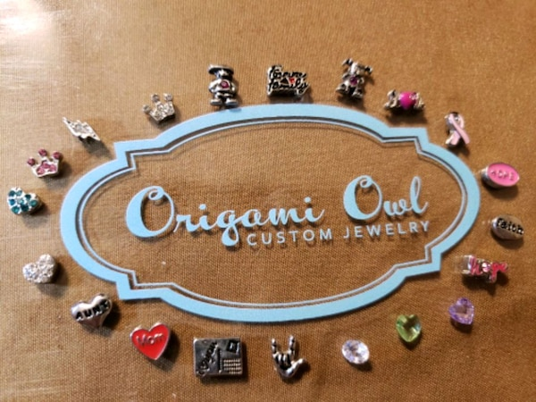 Amazon.com: 32 different Floating Charms bulk for your Origami Owl ... | 450x600