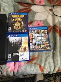 PS4 with 2 terabyte hard drive and games   Edmonton, T6L 4W2