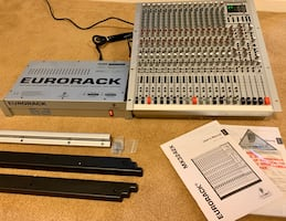Behringer Mixing Console, 32 Channel, 4 Bus - Eurorack Model MX3242X