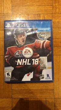 NHL 18. Great condition Toronto, M6K 1H8
