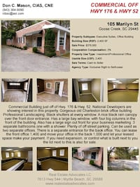 Office Building For Sale Goose Creek
