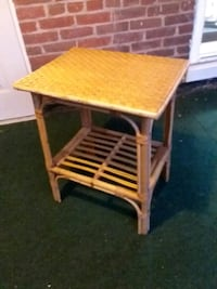 Bamboo outdoor side table Stroudsburg, 18360