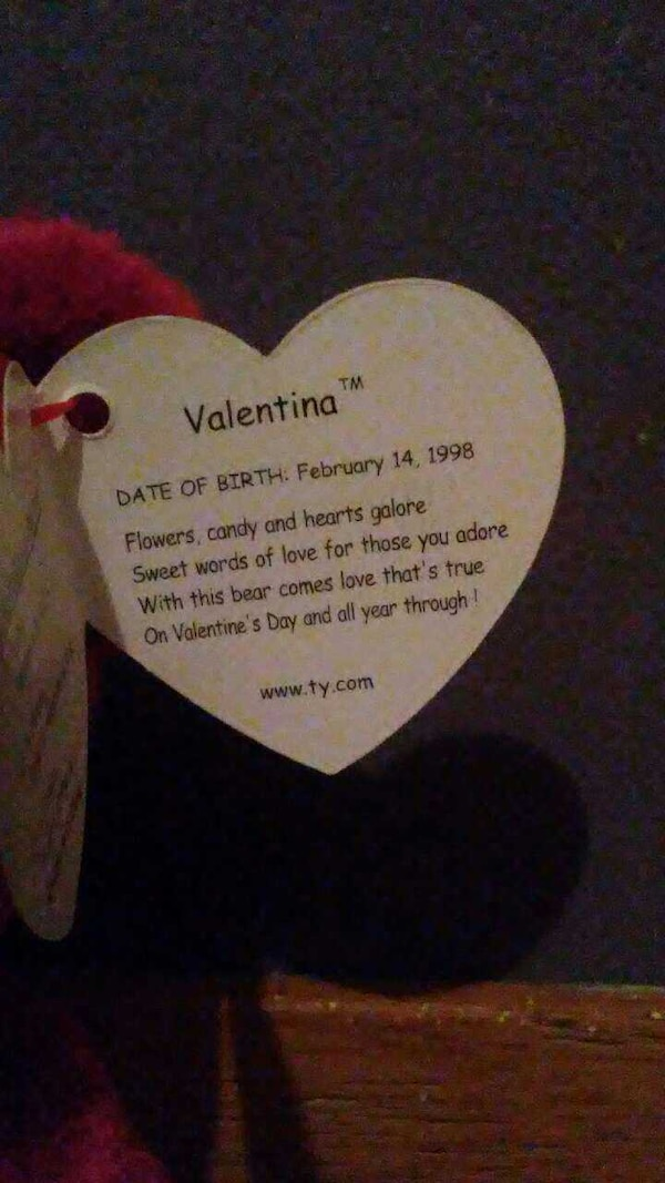 1506d9ac4b6 Used Rare Valentine Beanie Baby for sale in Youngstown - letgo