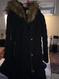 Black long winter jacket Edmonton, T5T 3B8