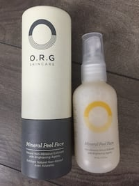 Never used O.R.G Mineral Face Peel Wasaga Beach, L9Z 2X5